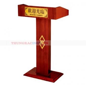 Bục giảng bằng gỗ giá rẻ