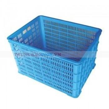 Thùng nhựa rỗng đựng linh kiện phụ tùng