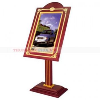 bảng wellcome bằng gỗ cao cấp