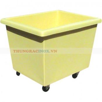 thùng đẩy đồ bẩn bằng nhựa HDPE