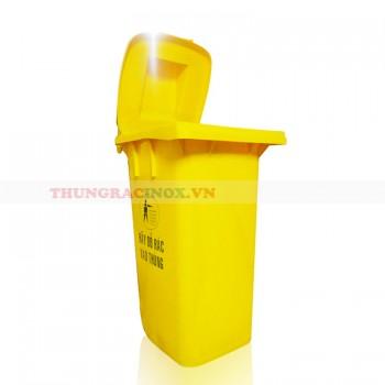 Thùng đựng rác nhựa HDPE 120 lít