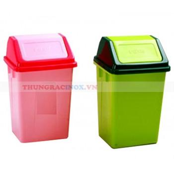 Thùng đựng rác nhựa nắp lật