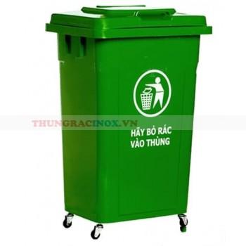 thùng rác công nghiệp 90l