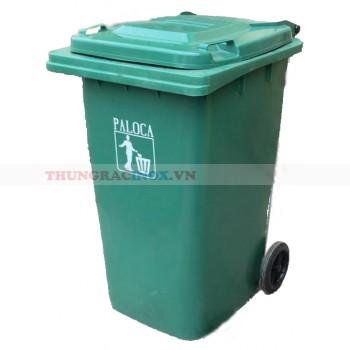 thùng rác nhựa 240 lít chống cháy