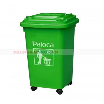 Mua thùng rác nhựa 60 lít màu xanh giá rẻ