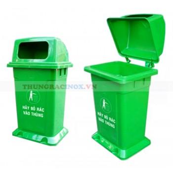 Thùng rác nhựa MGB HDPE 95L