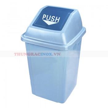 Thùng rác nhựa nắp đẩy Push