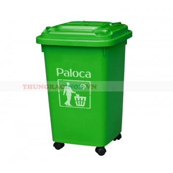 Thùng rác 50 lít nhựa hdpe