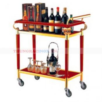Xe đẩy phục vụ rượu khách sạn