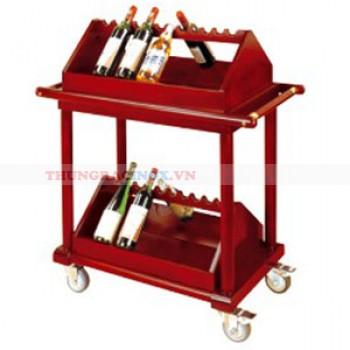 Giá để rượu có bánh xe đẩy cao cấp WY-110