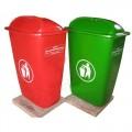 Thùng rác nhựa 50 lít chống cháy
