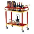 Xe phục vụ rượu 2 tầng bằng gỗ
