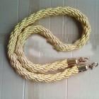 Dây vặn thừng màu vàng bổ sung cho cột chắn