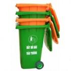 Thùng đựng rác nhựa HDPE bánh xe 240L