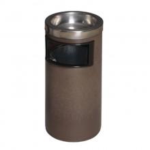 Thùng rác nhựa tròn có khay gạt tàn thuốc