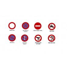 Biển báo giao thông hình tròn ( các loại biển cấm)