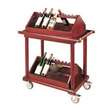 Giá để rượu có bánh xe đẩy cao cấp