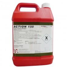 hóa chất đánh tróc lớp phủ sàn trước khi phủ bóng sàn đá gạch action 150