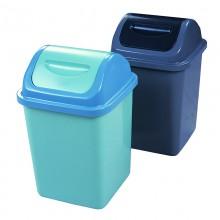 Thùng đựng rác nhựa nắp lật 10L