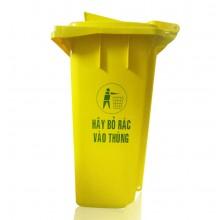 Thùng đựng rác y tế HDPE