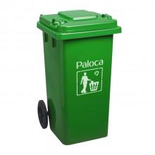 Thùng rác nhựa 120L màu xanh lá