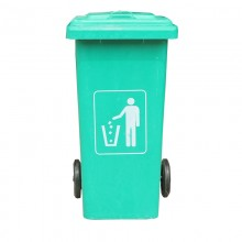 Thùng rác nhựa chống cháy 120 lít