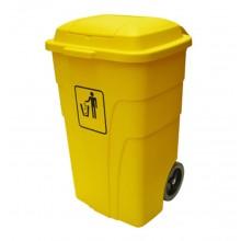 Thùng rác y tế có bánh xe