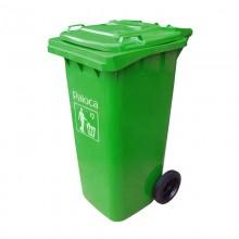 thùng rác nhựa có bánh xe 120 lít