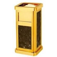Thùng rác đá hoa cương có cửa bỏ rác bên hông nhập khẩu