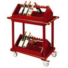 Kệ để rượu bằng gỗ di động WY-10