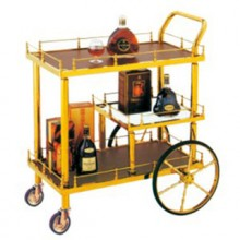 Xe phục vụ rượu bằng inox WY-46