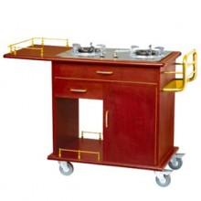 Tủ bếp di động bếp ga đôi WY-16A