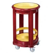 Kệ để rượu bằng gỗ có bánh xe giá rẻ WY-97