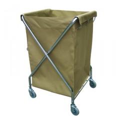 Xe chở đồ giặt là chữ X khung inox