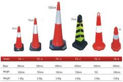 Cọc tiêu giao thông nhựa PE