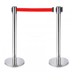 cột chắn inox dây kéo căng