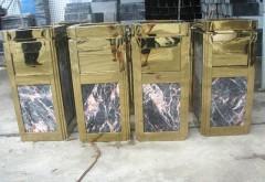 Cung cấp thùng rác đá hoa cương giá rẻ cho khách sạn, tòa nh