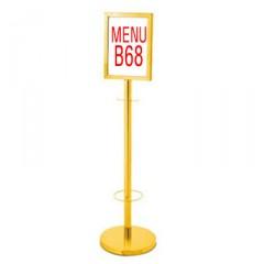 Bảng menu nhỏ đặt hành lang