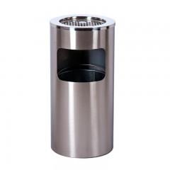Địa chỉ mua thùng rác inox có gạt tàn thuốc lá tại TP.PHCM