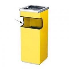 Thùng đựng rác inox có gạt tàn
