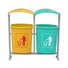 thùng rác cố định composite