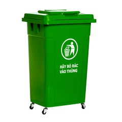 thùng rác công cộng 60l