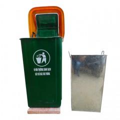 Thùng rác đế đá nhựa composite