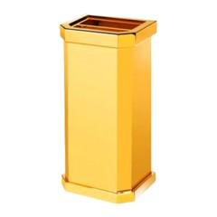 Thùng rác inox mạ vàng