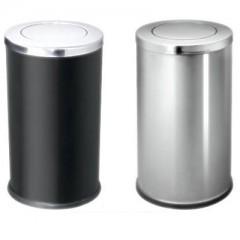 thùng rác inox nắp lật cao cấp