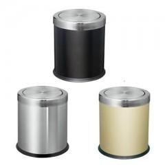 thùng rác inox nắp lật cỡ nhỏ