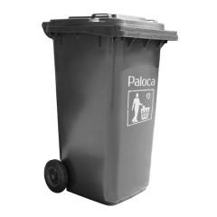 Thùng rác nhựa 120L màu đen