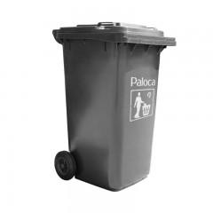 Thùng rác nhựa 240 lít màu đen