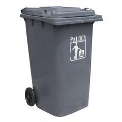 Thùng rác nhựa 90 lít màu ghi