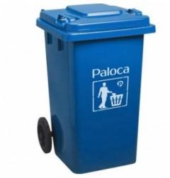 Thùng rác nhựa 90 lít màu xanh